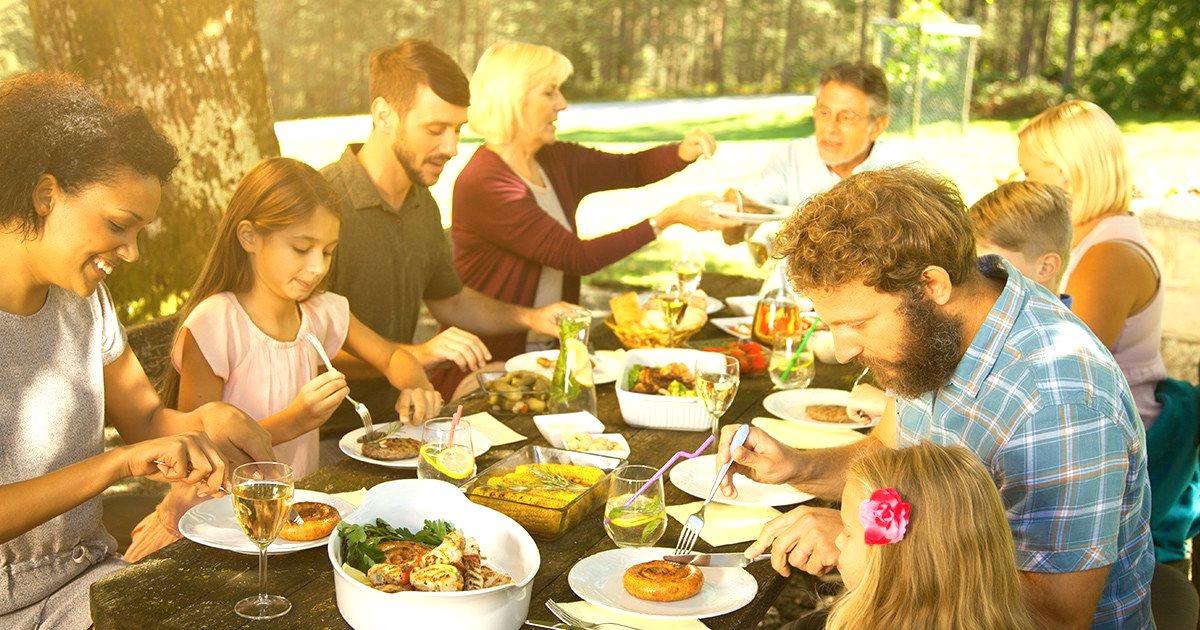 Семейная диета лучше всего подходит для детей