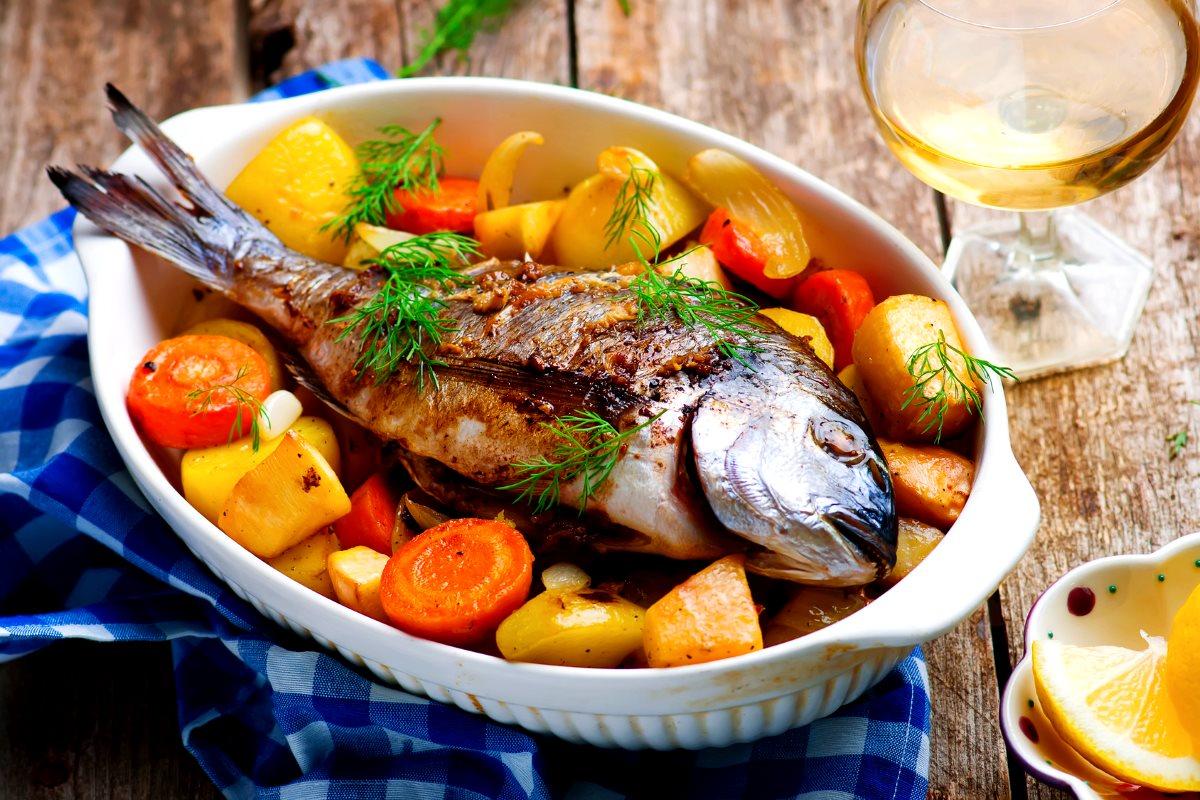 Ешьте больше овощей и рыбы