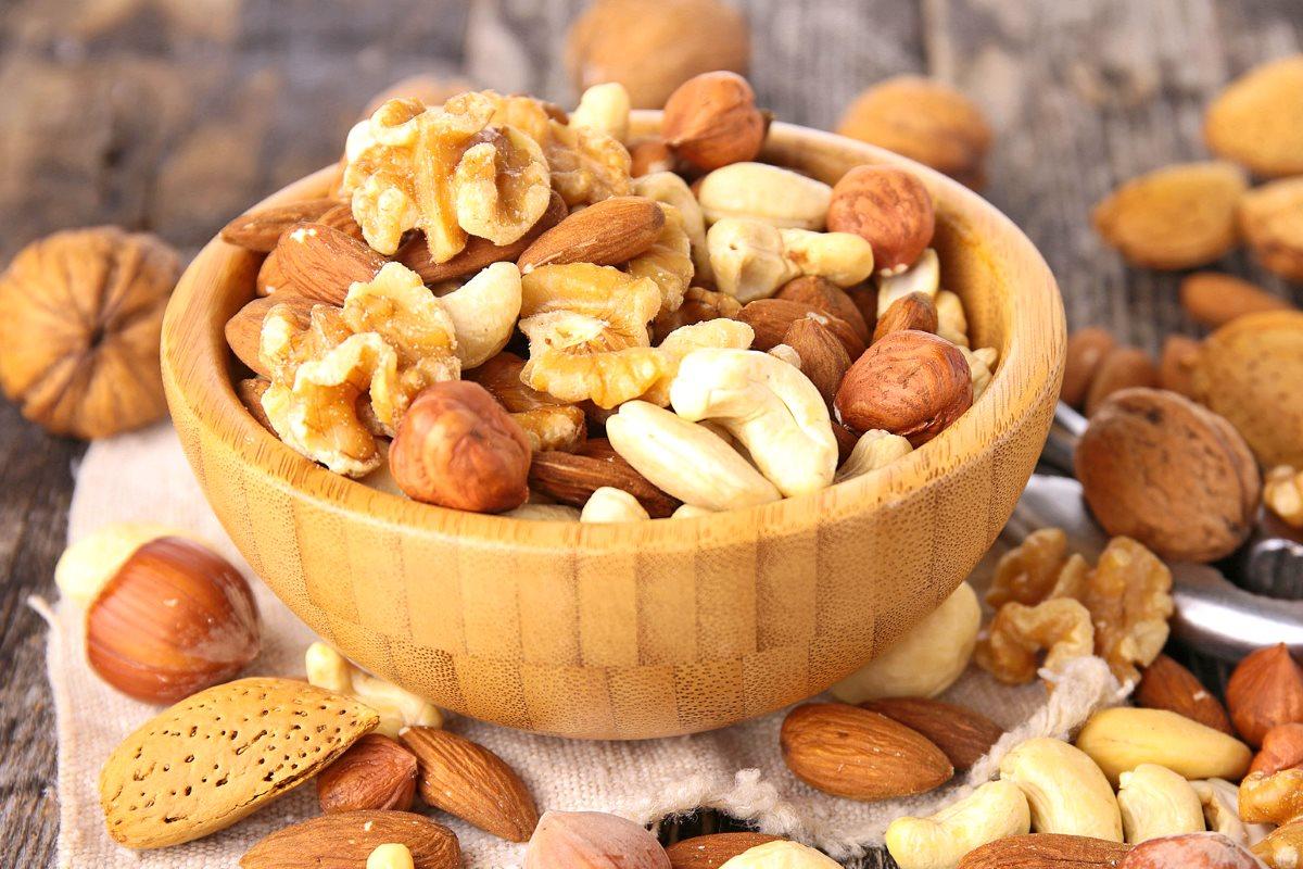 Употребление горсти орехов каждый день